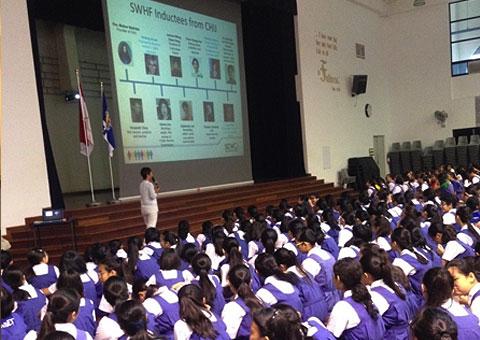 CHIJ Secondary School honours alumnae