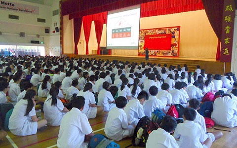Yuying Secondary School takes pride in Han Sai Por